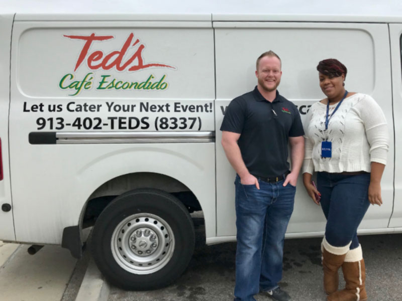 Giving Campaigns and Media Relations - Ted's Lunch for Students