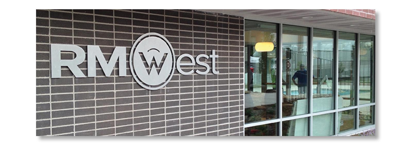Sturges Word Client RMWest Signage - Logo Design