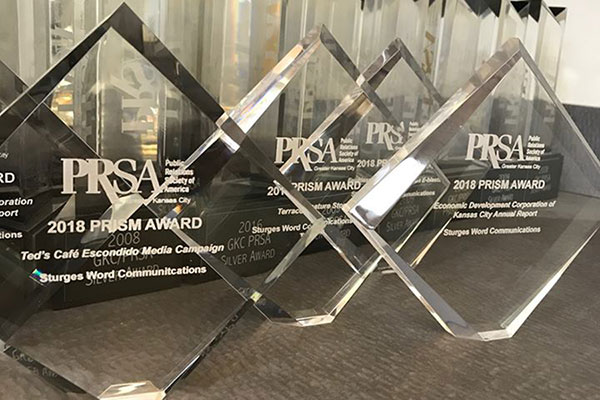 Sturges Word Communications Wins Four PRISM